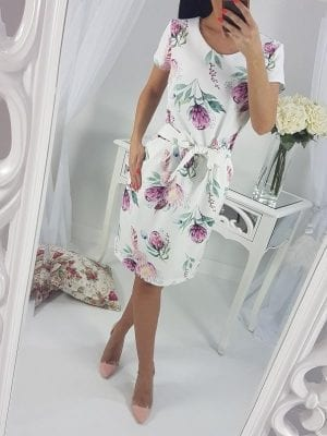Krátke elegantné šaty EWA