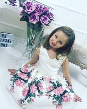 Romantické šaty KIDS
