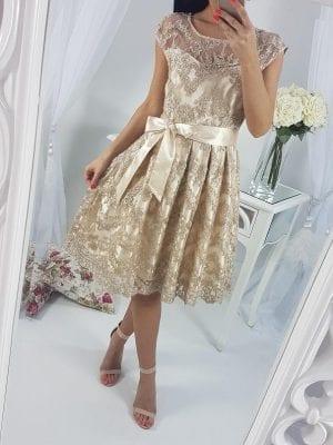 Krátke šaty eleg. LUXUS-EVA