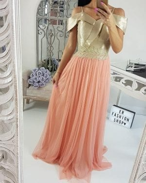 Dlhé šaty  eleg.  LUXUS