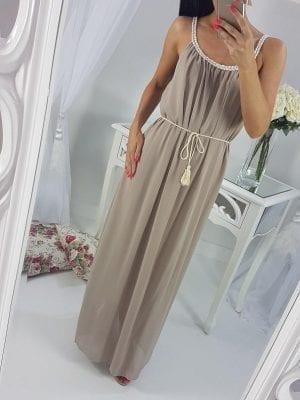 Elegantné šaty dlhé MARIANA (letné)