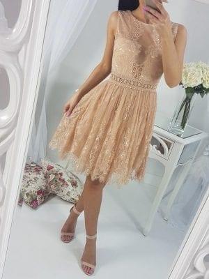Krátke elegantné šaty(čipkované)