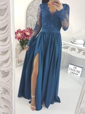 Dlhé elegantné šaty LAURA 1.