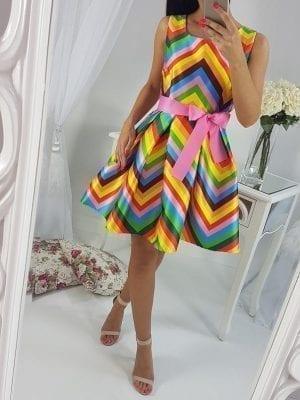 Šaty Valentino (bohatá suknička)